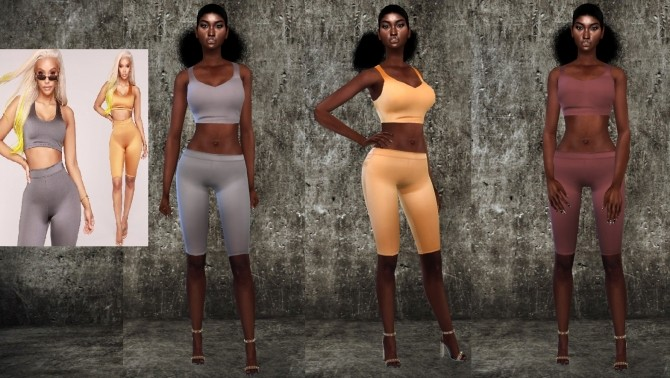 Sims 4 Leggings Set at Teenageeaglerunner