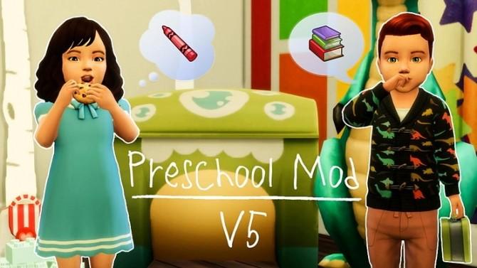 Sims 4 Preschool Mod at KAWAIISTACIE