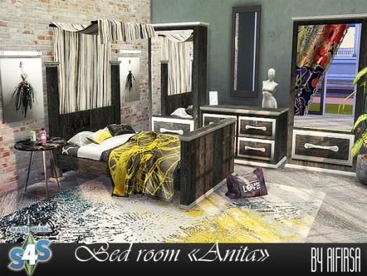 Anita bedroom at Aifirsa image 1175 Sims 4 Updates