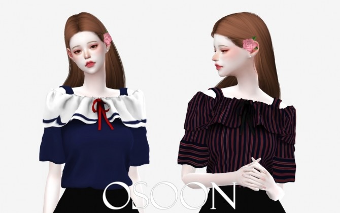 Rose Blouse at Osoon image 1191 670x419 Sims 4 Updates