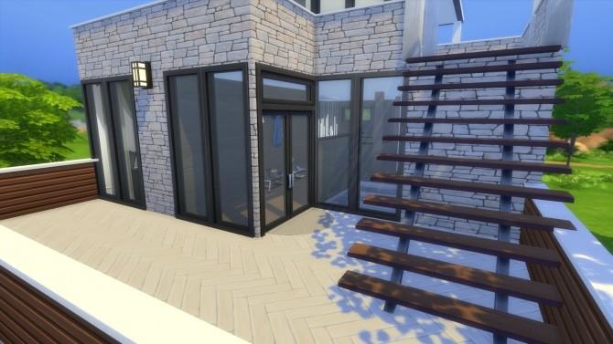 Sims 4 Soir house (Minimal CC) by Kokosas at Mod The Sims