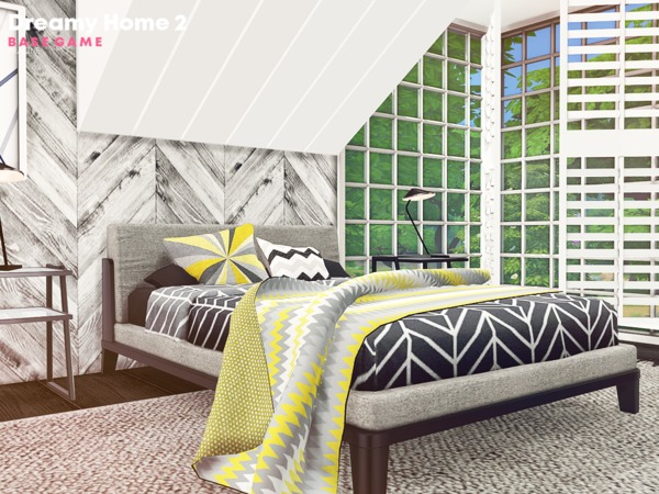 Sims 4 Dreamy Home 2 by Pralinesims at TSR