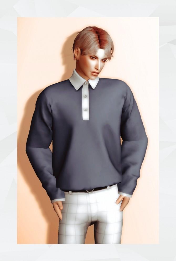 Sims 4 Poul Shirt at Gorilla