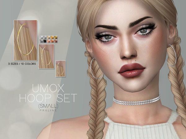 Sims 4 UMOX Hoop Set Small by Pralinesims at TSR