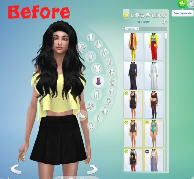 Robe Jinx in 2020   Sims 4 mods clothes, Sims 4 clothing