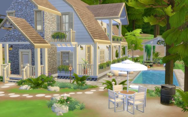 Sims 4 House 62 Granite Falls at Via Sims