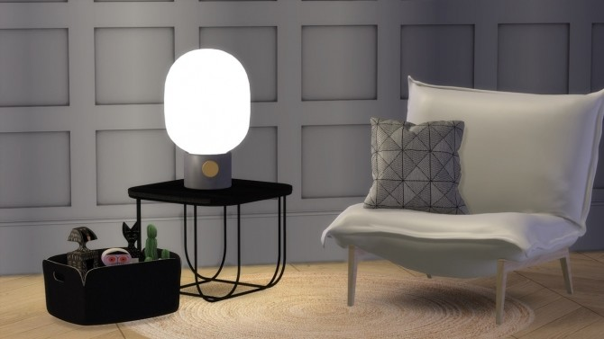 JWDA TABLE LAMP at Meinkatz Creations image 1306 670x377 Sims 4 Updates