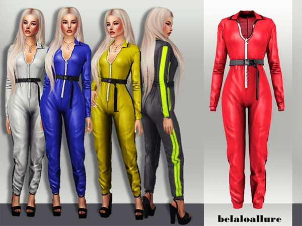 Sims 4 Belaloloallure track suit by belal1997 at TSR
