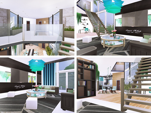 Clora house by Rirann at TSR image 1320 Sims 4 Updates
