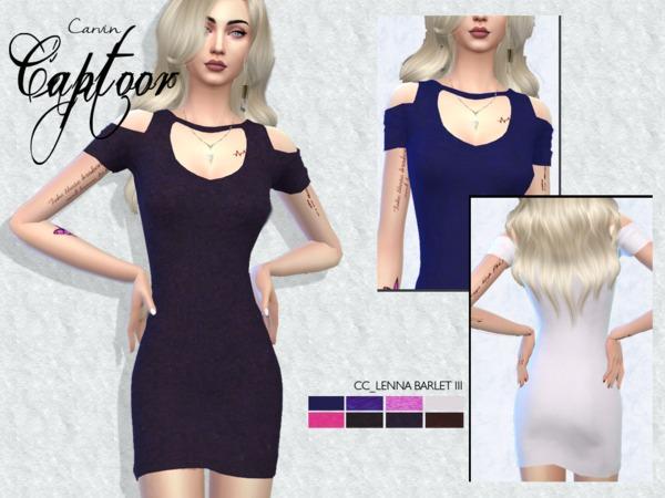 Sims 4 Lenna barlet III dress by carvin captoor at TSR