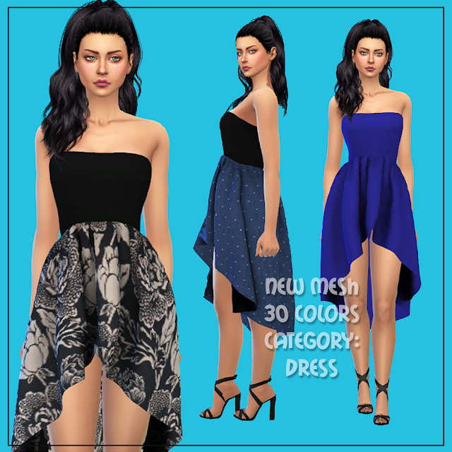 Sims 4 Dress 52 at All by Glaza