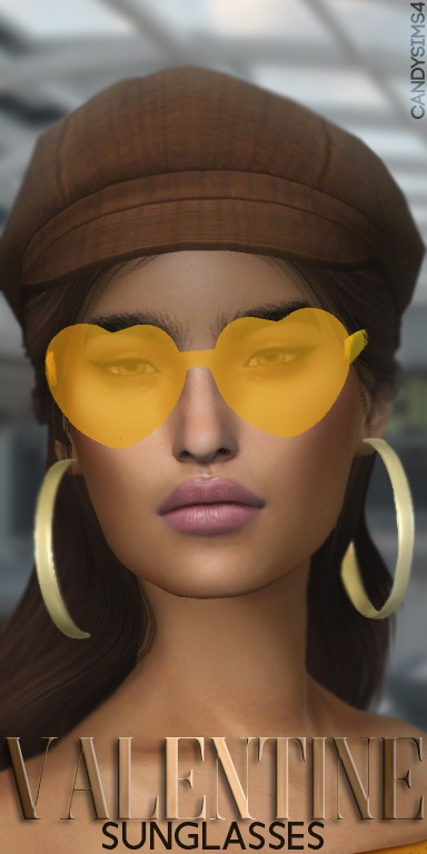 Sims 4 VALENTINE SUNGLASSES at Candy Sims 4