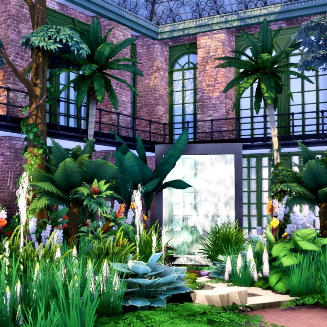 Romantic Garden Expanded 16 New Doors and Windows at Simsational Designs image 1383 670x670 Sims 4 Updates