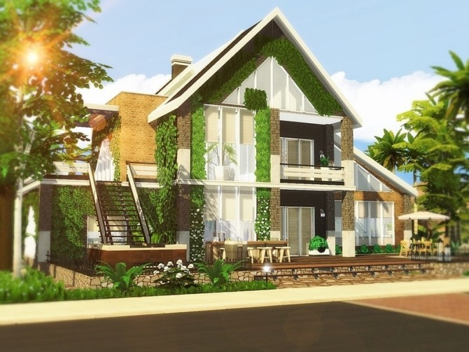 Contemporary Abode by MychQQQ at TSR image 14 670x503 Sims 4 Updates