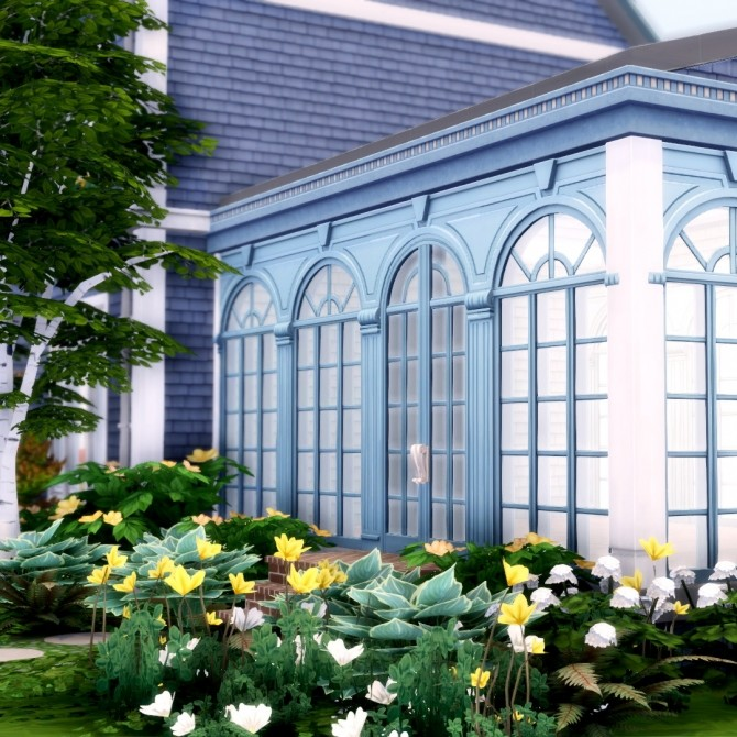 Romantic Garden Expanded 16 New Doors and Windows at Simsational Designs image 1403 670x670 Sims 4 Updates