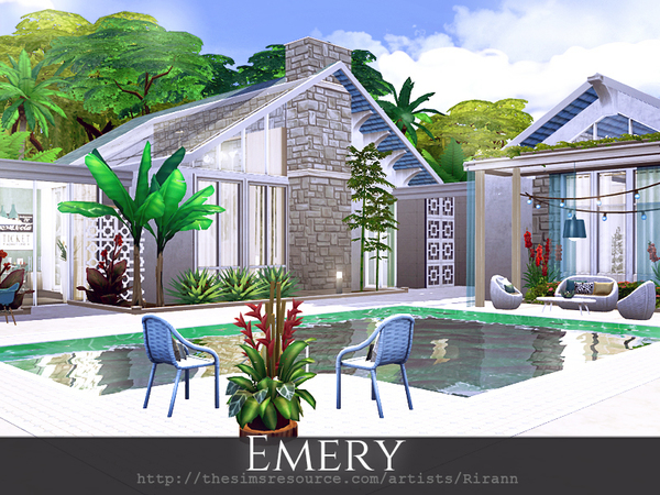 Emery home by Rirann at TSR image 1415 Sims 4 Updates