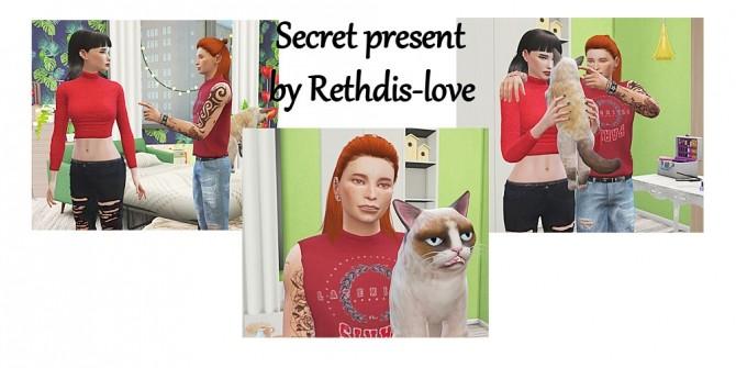 Secret present poses at Rethdis love image 1474 670x335 Sims 4 Updates