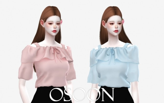 Rose Blouse at Osoon image 149 670x419 Sims 4 Updates