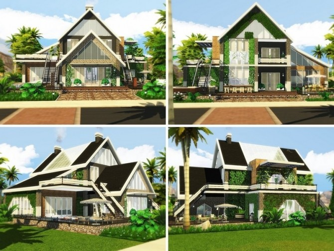 Contemporary Abode by MychQQQ at TSR image 15 670x503 Sims 4 Updates