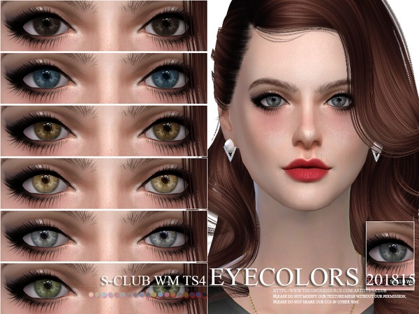 Eyecolors 201815 by S Club WM at TSR image 1520 Sims 4 Updates
