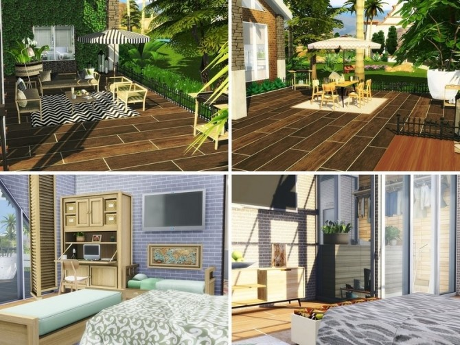 Contemporary Abode by MychQQQ at TSR image 16 670x503 Sims 4 Updates