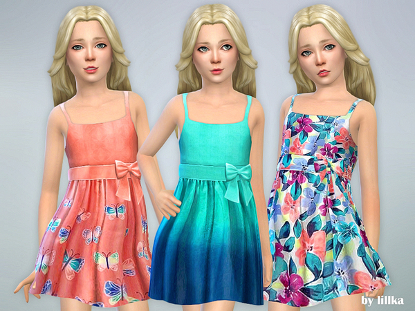 Sims 4 Designer Dresses Collection P113 by lillka at TSR