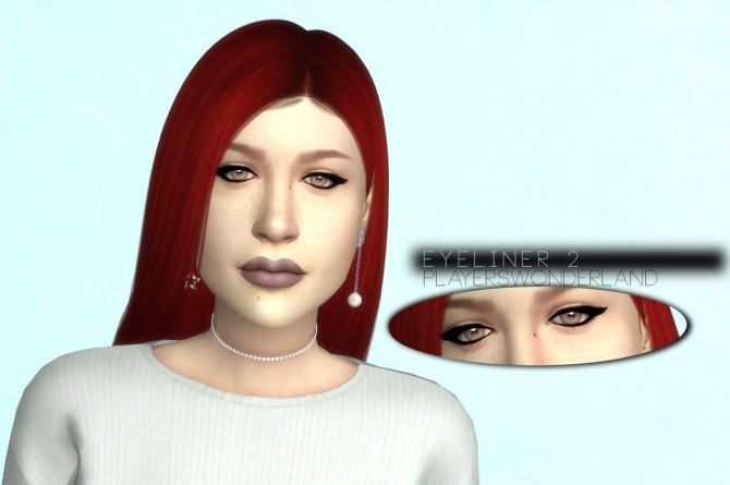 Eyeliner 2 at PW's Creations image 1664 670x445 Sims 4 Updates
