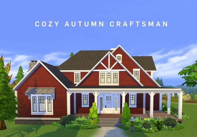 Cozy Autumn Craftsman at SimPlistic image 167 670x464 Sims 4 Updates