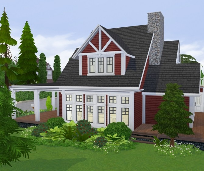 Cozy Autumn Craftsman at SimPlistic image 168 670x562 Sims 4 Updates
