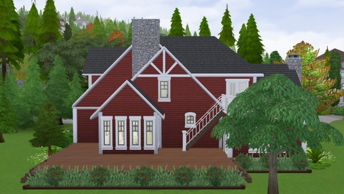 Cozy Autumn Craftsman at SimPlistic image 169 670x377 Sims 4 Updates