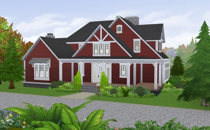 Cozy Autumn Craftsman at SimPlistic image 170 670x416 Sims 4 Updates