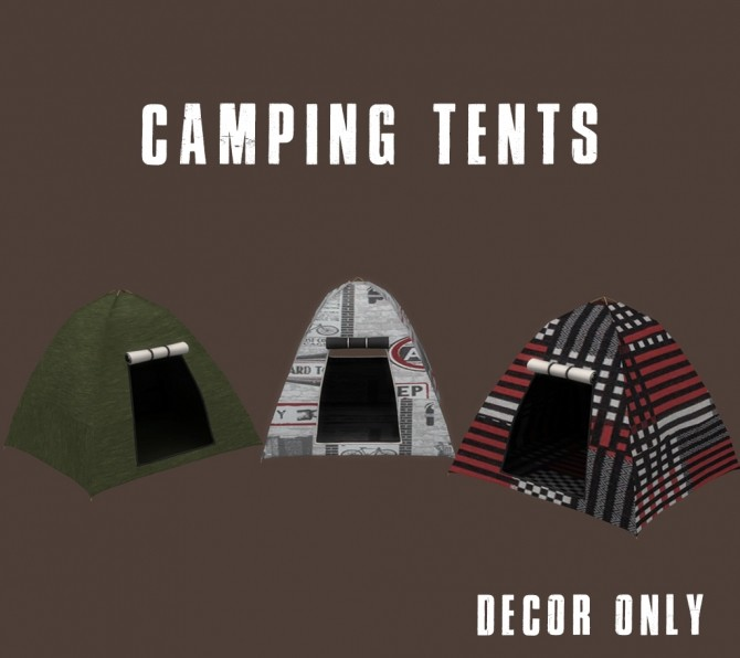 Camping Tents at Leo Sims image 1703 670x596 Sims 4 Updates