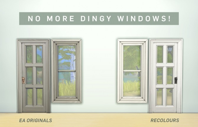 Whiter Windows: Before & After at SimPlistic image 1711 670x429 Sims 4 Updates
