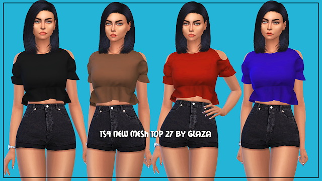Top 27 at All by Glaza image 17210 Sims 4 Updates