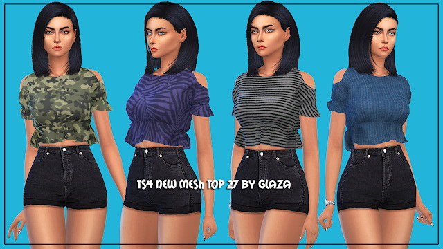 Sims 4 Top 27 at All by Glaza