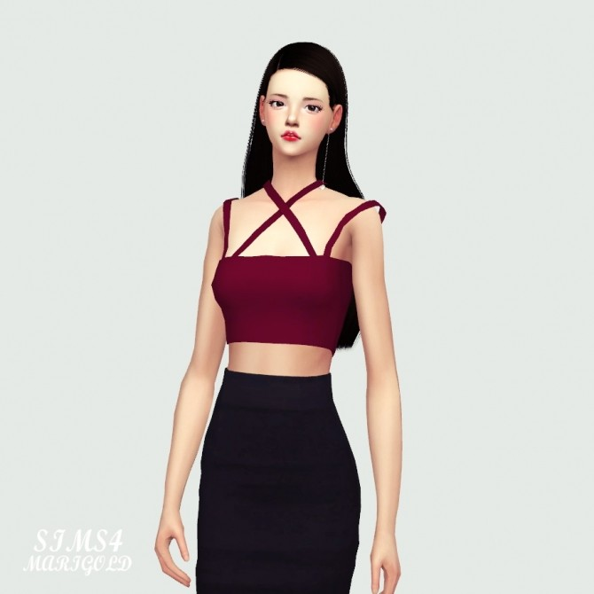 Sleeveless Top at Marigold image 1752 670x670 Sims 4 Updates