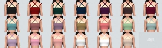 Sleeveless Top at Marigold image 1762 670x201 Sims 4 Updates