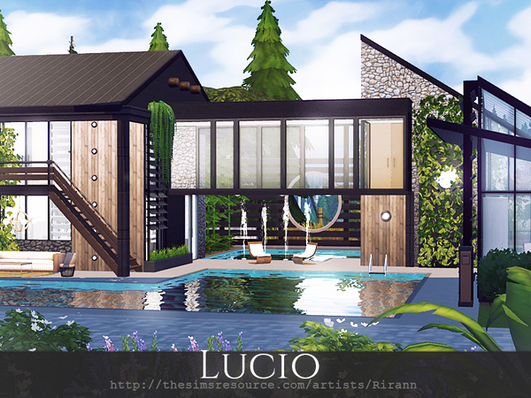 Lucio house by Rirann at TSR image 1817 Sims 4 Updates
