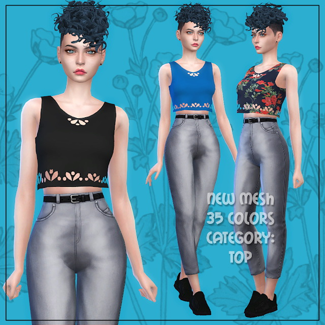 Top 29 at All by Glaza image 18210 Sims 4 Updates