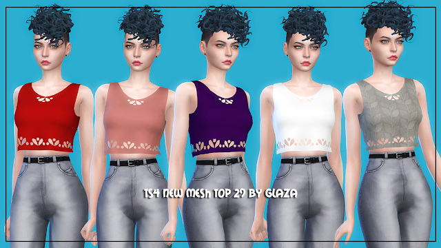 Top 29 at All by Glaza image 1844 Sims 4 Updates