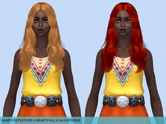 Sims 4 Hair retextures part 2 at Heartfall