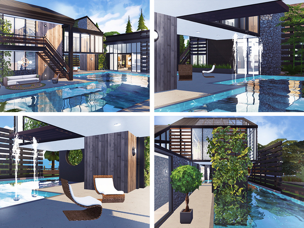Lucio house by Rirann at TSR image 1916 Sims 4 Updates