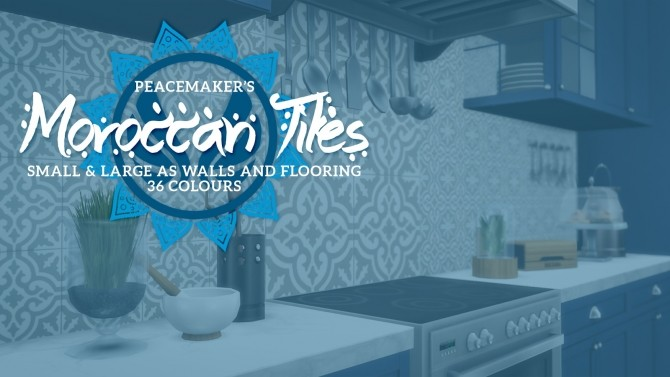 Moroccan Tiles at Meinkatz Creations image 195 670x377 Sims 4 Updates