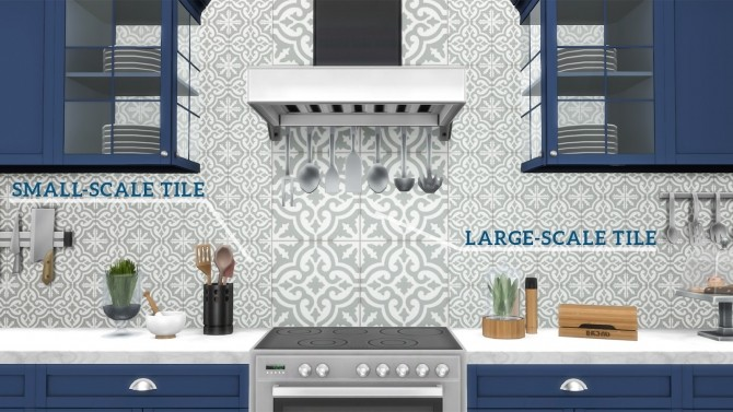 Moroccan Tiles at Meinkatz Creations image 196 670x377 Sims 4 Updates