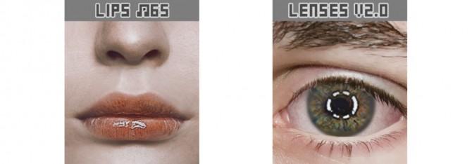 Sims 4 Makeup set #2 lips & lenses at Magic bot