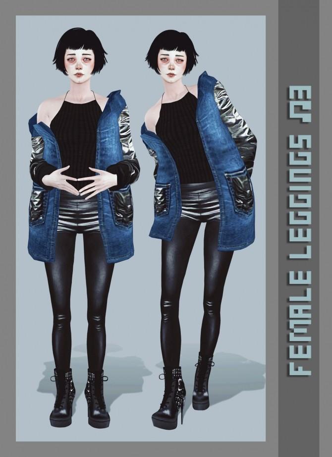 Female leggings №3 at Magic bot image 2002 670x922 Sims 4 Updates