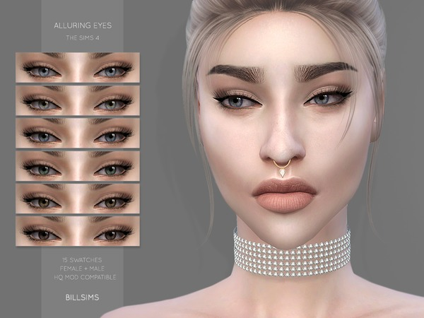 Sims 4 Alluring Eyes by Bill Sims at TSR