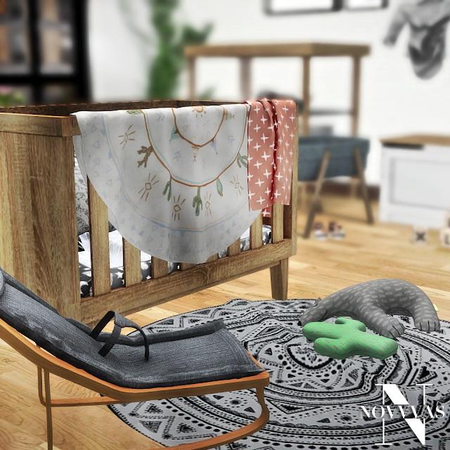 Sims 4 KALEHOUSE SCANDI BABY STUFF at Novvvas