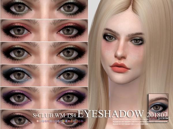 Sims 4 Eyeshadow 201807 by S Club WM at TSR