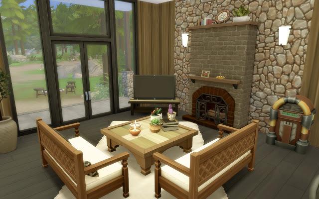 Sims 4 House 61 Granite Falls at Via Sims